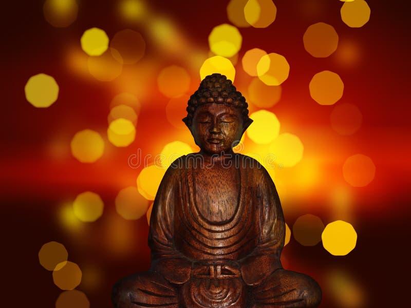 Wooden Buddha Statue Free Public Domain Cc0 Image