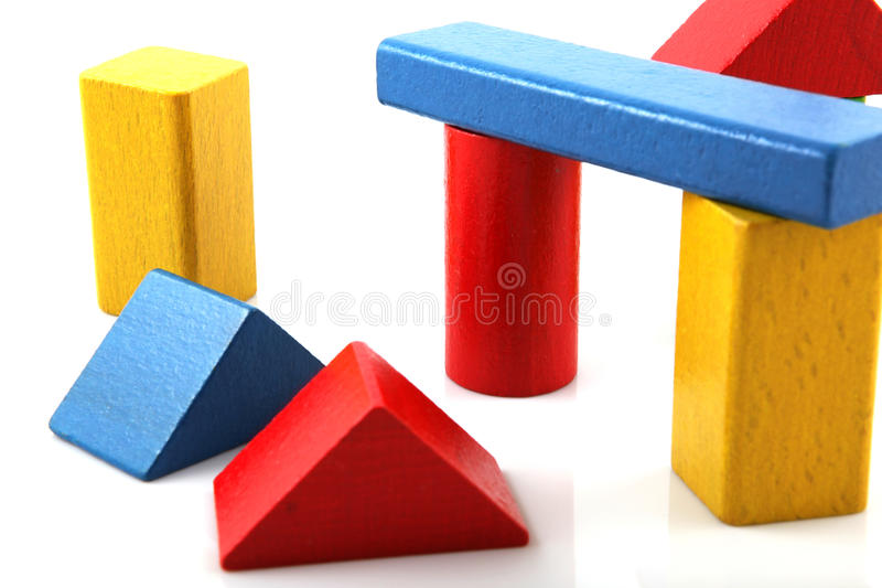 Download Wooden Building Blocks Royalty Free Stock Image - Image: 17419646