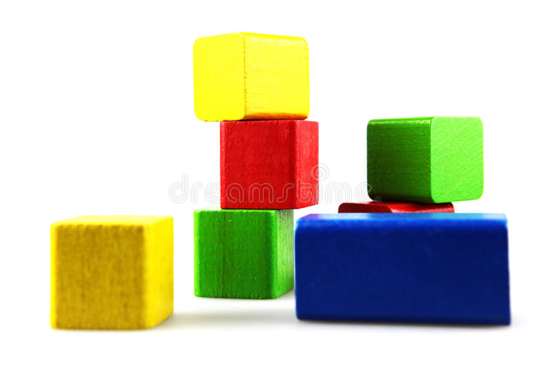 Download Wooden building blocks stock image. Image of children - 17822491