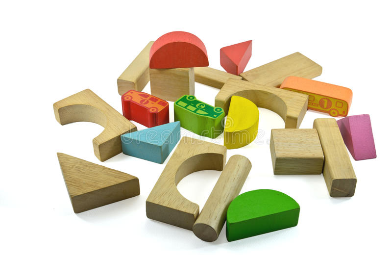 Download Wooden building blocks stock photo. Image of green, infancy - 30620076