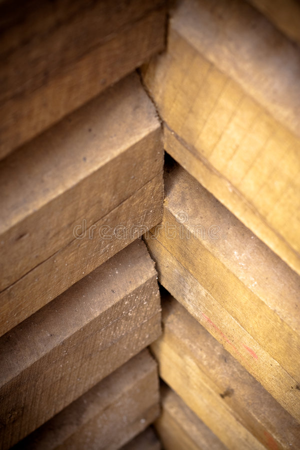 Free Wooden Building Corner Stock Image - 8423301
