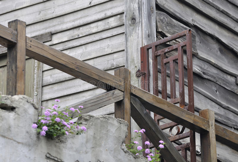 Download Wooden Building In Old Style Royalty Free Stock Images - Image: 12376719