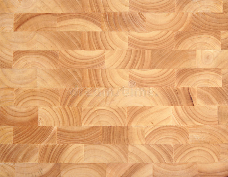 Wooden Butcher's Block Background stock photos