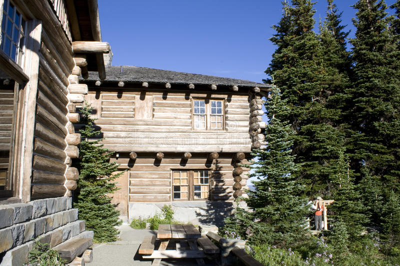 Download Wooden cabin stock image. Image of mountain, picnic, leisure - 27345899