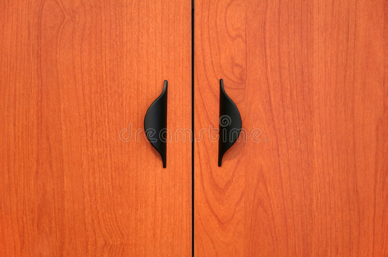 Wooden Cabinet Doors Stock Image Image Of Veneer Design 1277263