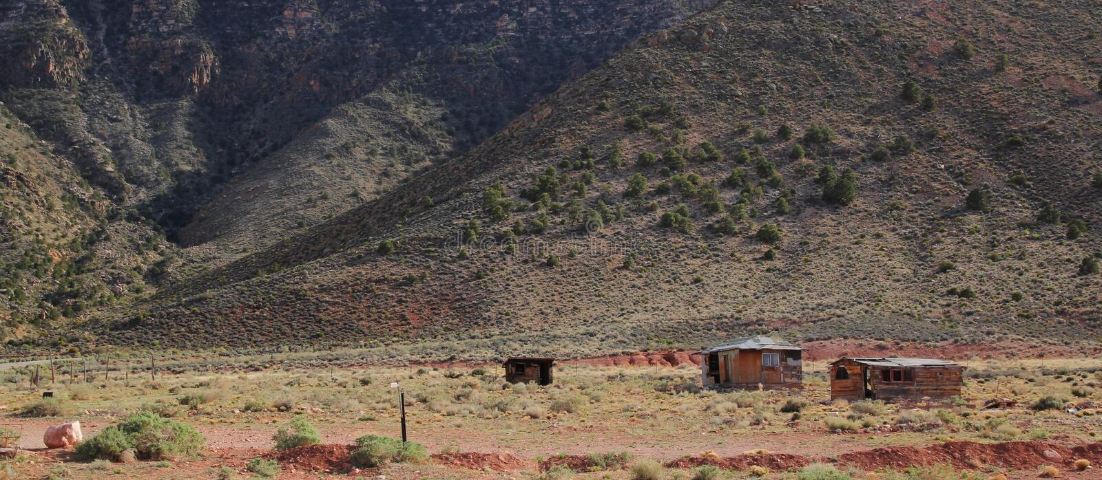 Download Wooden Cabins In Arizona Stock Images - Image: 25939014