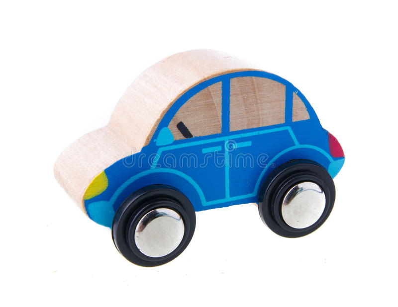 Wooden cars toys royalty free stock photography