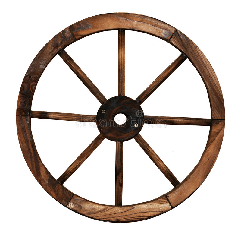 Download Wooden cart wheel stock photo. Image of eight, circle - 4697132