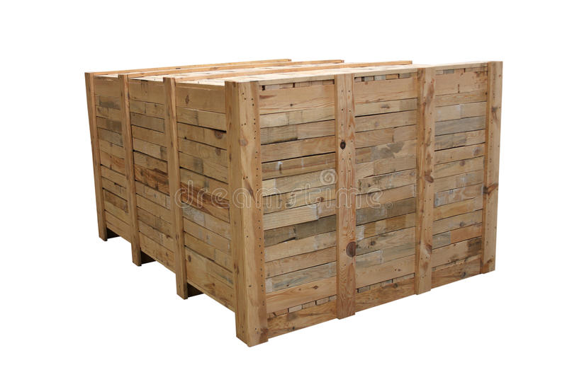 Wooden case royalty free stock photography