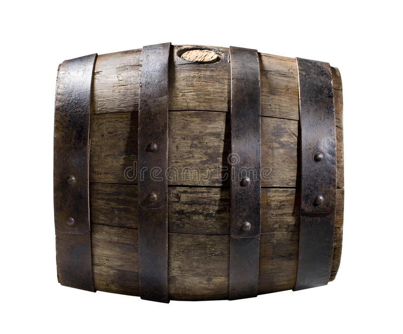 Download Wooden cask stock image. Image of hoop, full, cork, cask - 12411219