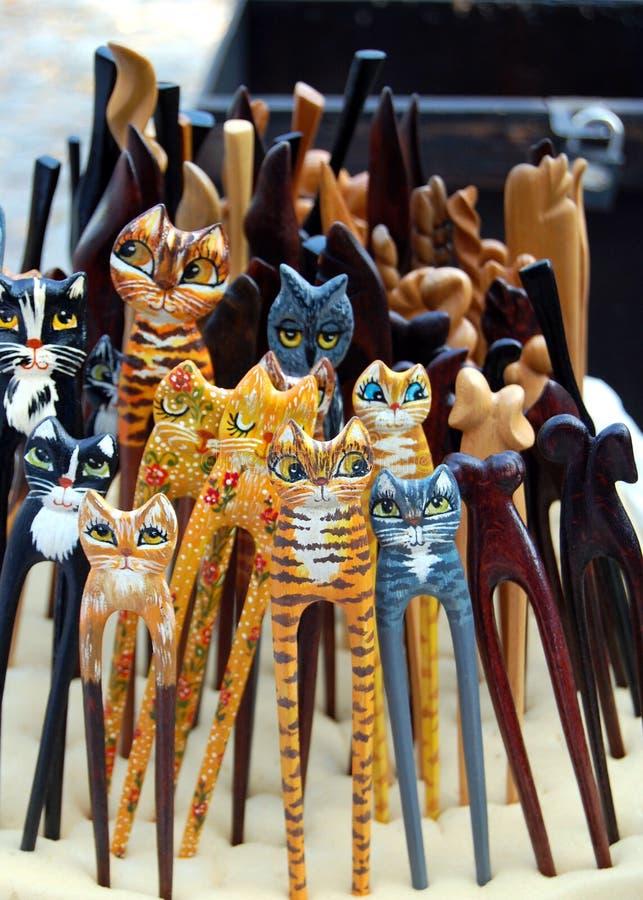 Free Wooden Cat Stock Photo - 10816000