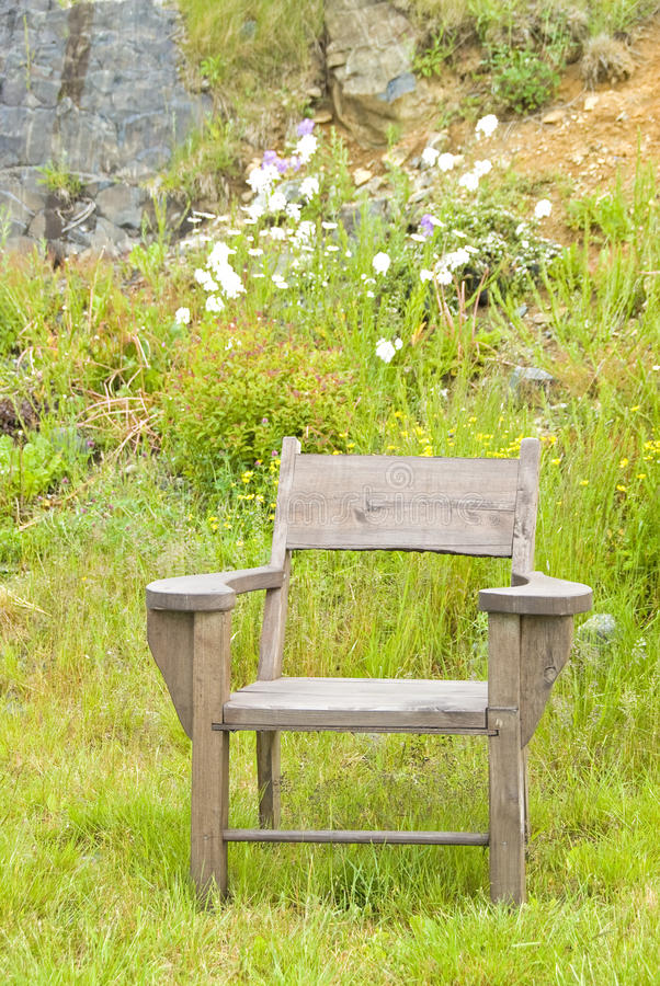 Wooden Chair Stock Image