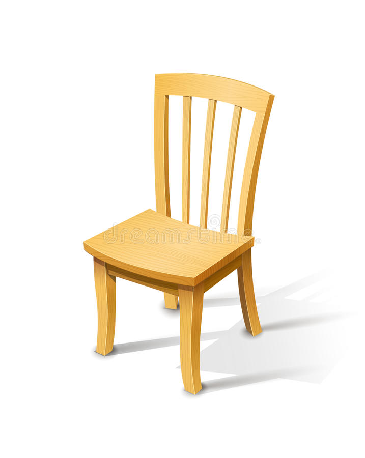 Free Wooden Chair Stock Photography - 35229832