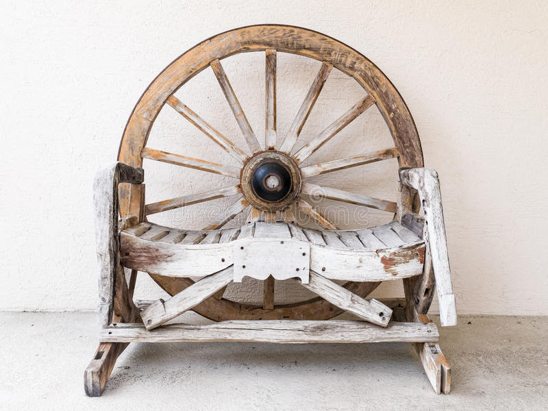 Download Wooden Chair For Two Stock Photo. Image Of Wood, Salvage   51168214