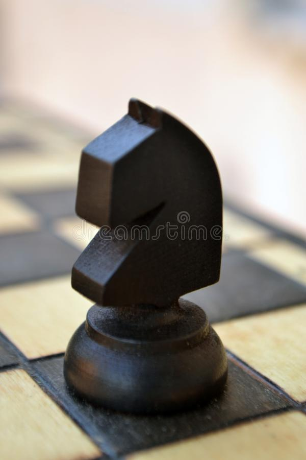 Chess piece on a chess Board royalty free stock image