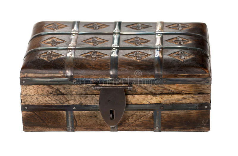 Download Wooden chest stock photo. Image of hasp, coffer, container - 22820930