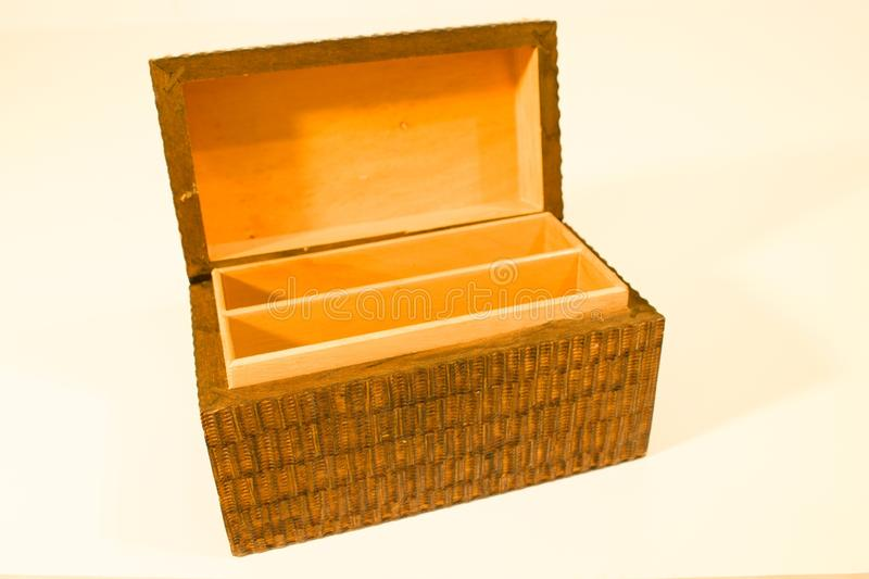 Wooden chests royalty free stock photo