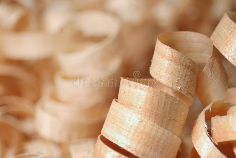 Download Wooden chips stock photo. Image of spiral, handmade, carpentry - 18080206