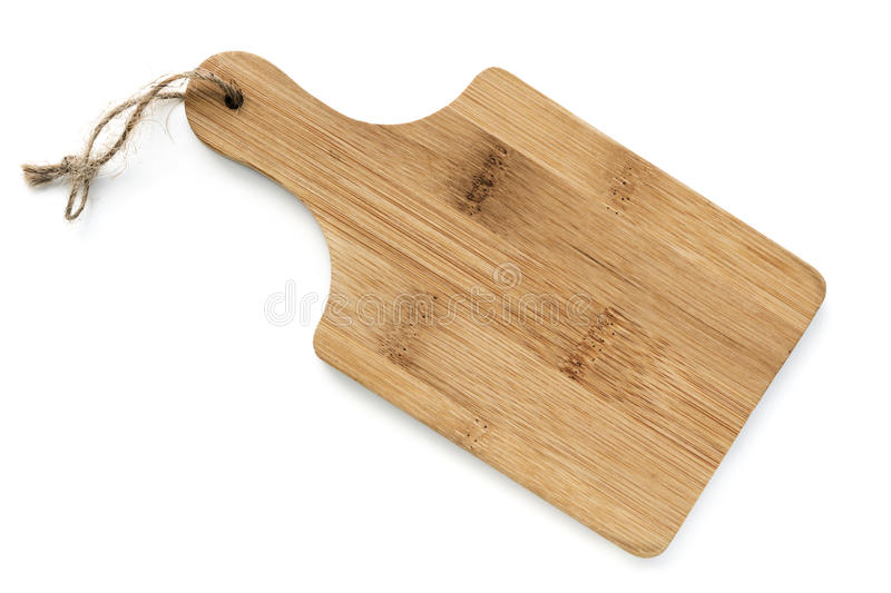 Download Wooden Chopping Board Isolated Top View Stock Photo - Image of board, wooden: 98911660