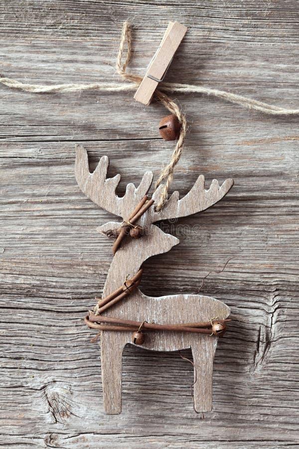 Download Wooden Christmas Deer Stock Photo - Image: 22060590