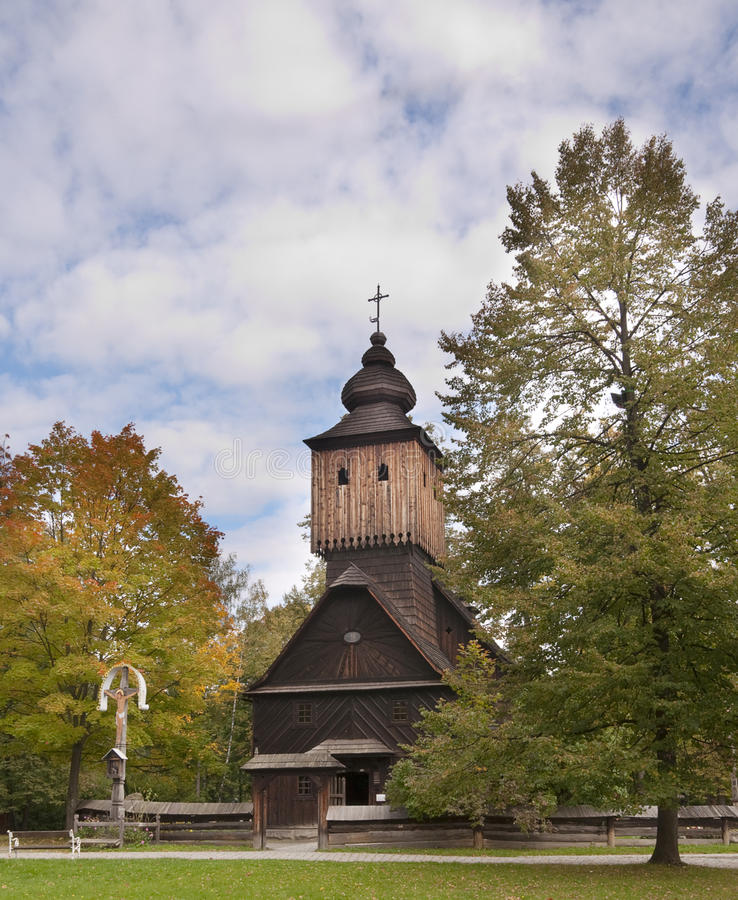 Free Wooden Church Royalty Free Stock Photography - 16365647