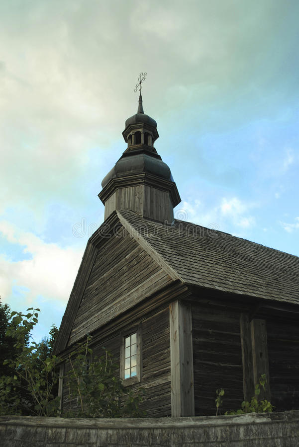 The wooden church of the 17th century royalty free stock photography