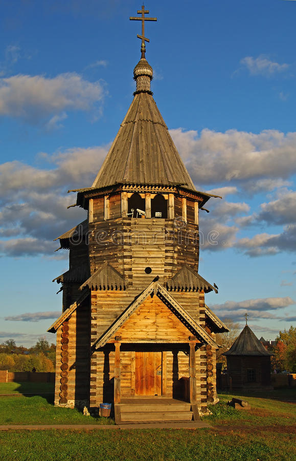 Free Wooden Church In The Suzdal Museum. Stock Images - 11893394
