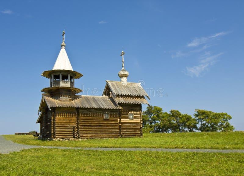 Wooden church, Kizhi royalty free stock image