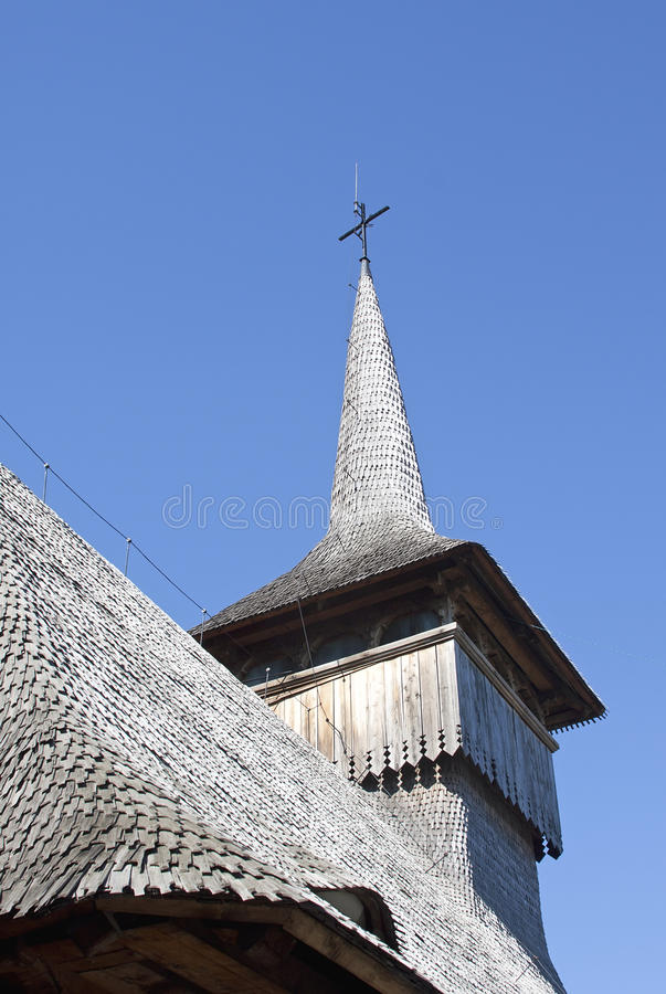 Wooden church - RAW format stock photography
