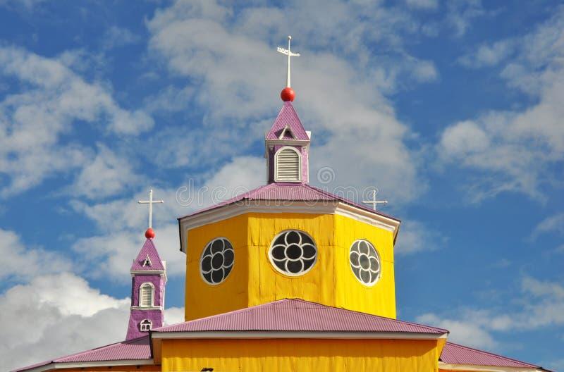Wooden church. stock photo