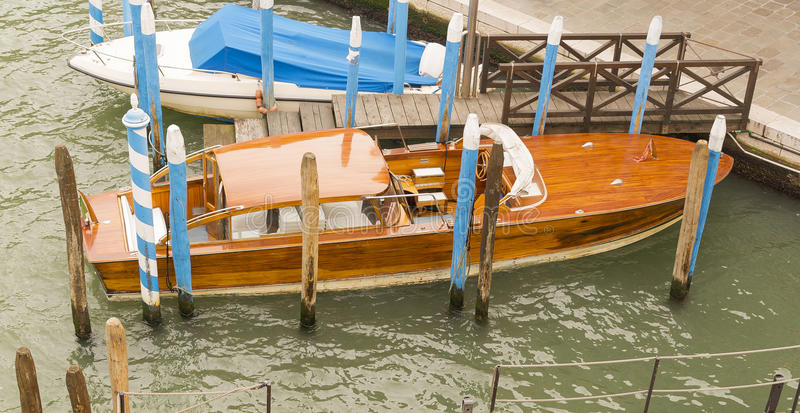 Wooden Classic Boat royalty free stock images