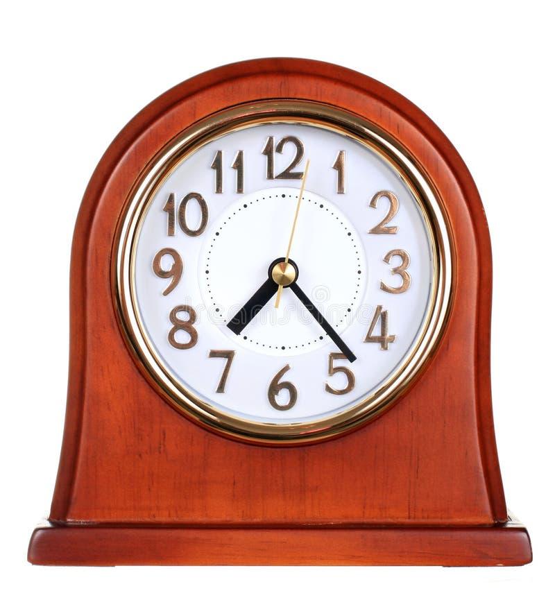 Free Wooden Clock Stock Image - 17539121