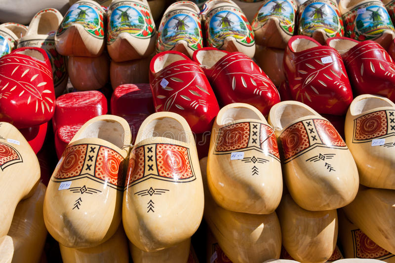 Download Wooden clogs stock photo. Image of culture, amsterdam - 15898890