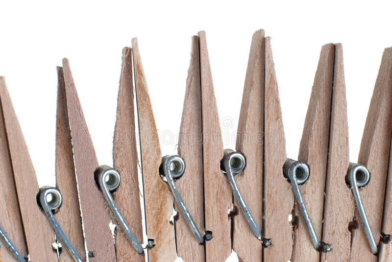 Download Wooden Clothes Pegs Royalty Free Stock Photo - Image: 18974875