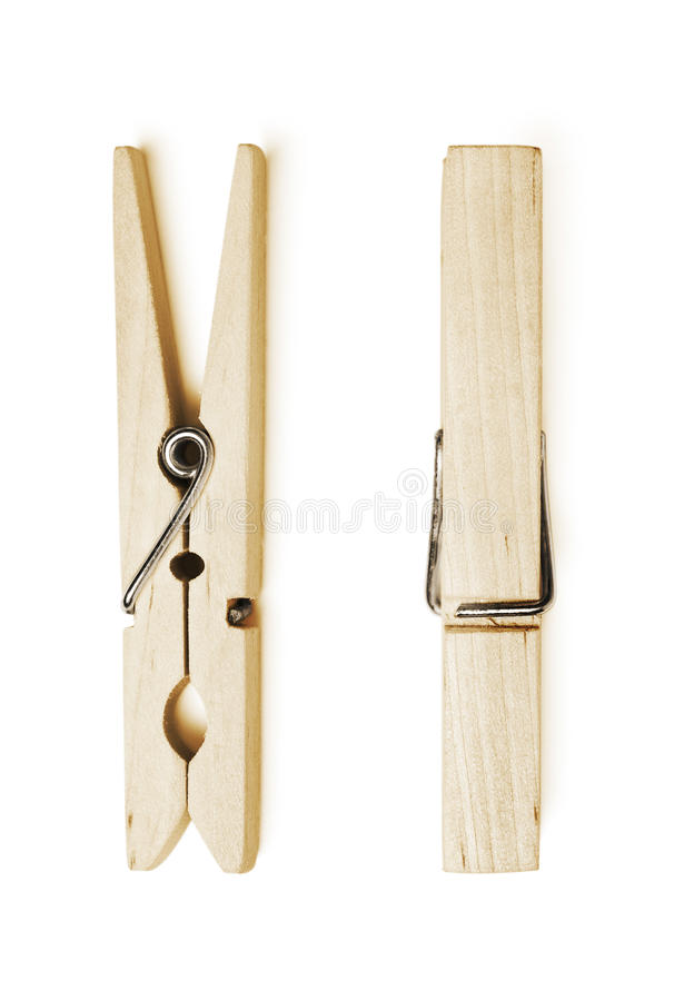 Download Wooden Clothespin Royalty Free Stock Photography - Image: 21441367