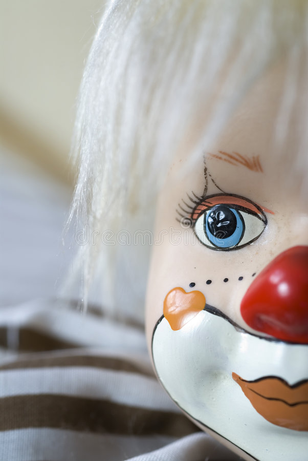 Free Wooden Clown 2 Royalty Free Stock Photos - 1160298