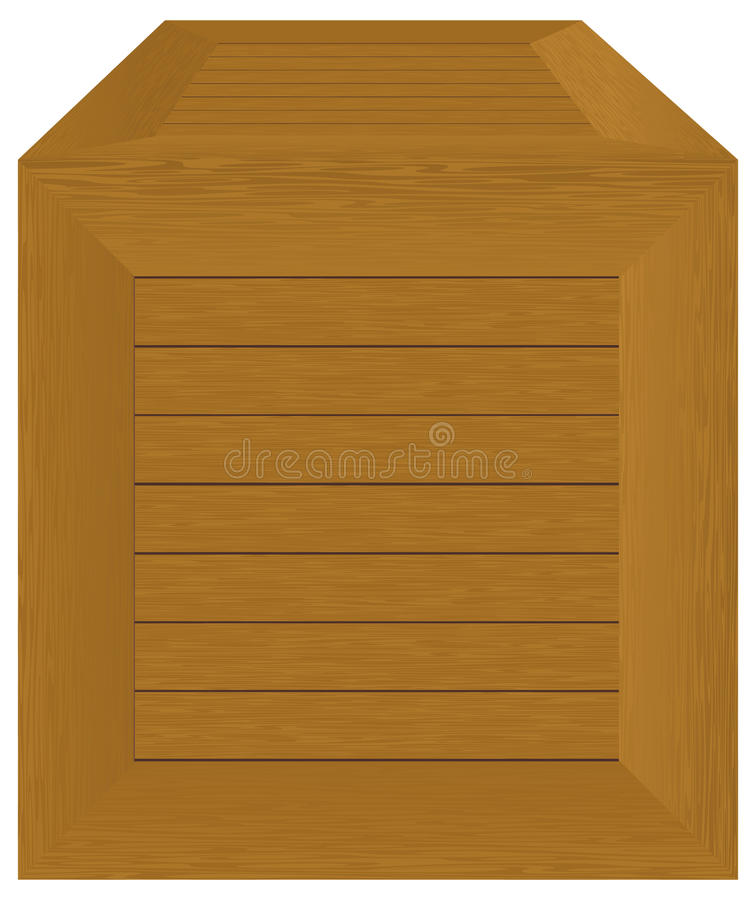 Wooden container