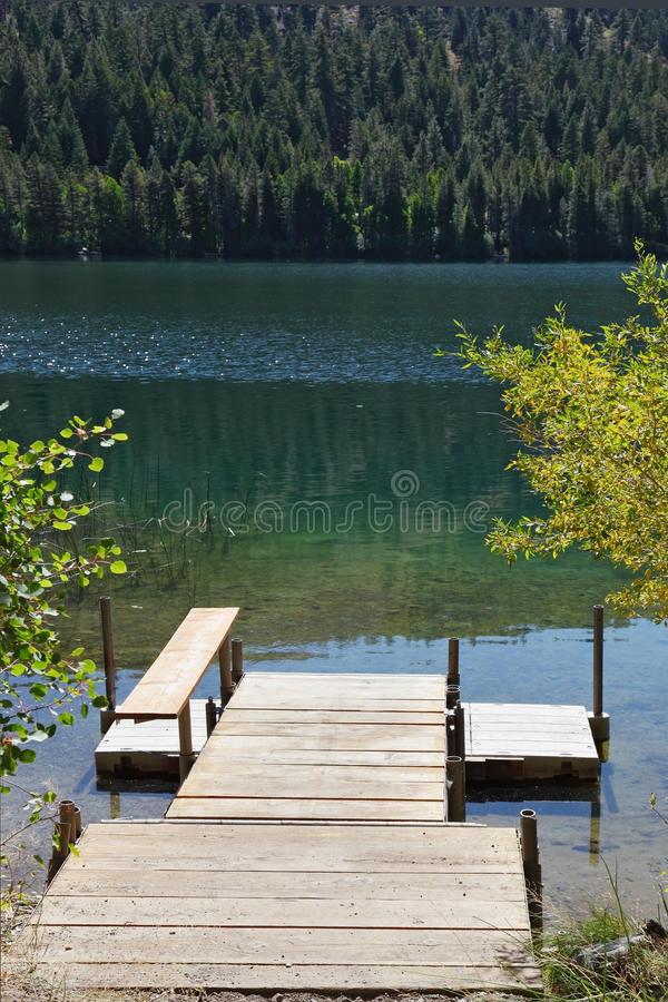 Download Wooden Convenient Dock For Boats Stock Image - Image: 16683197