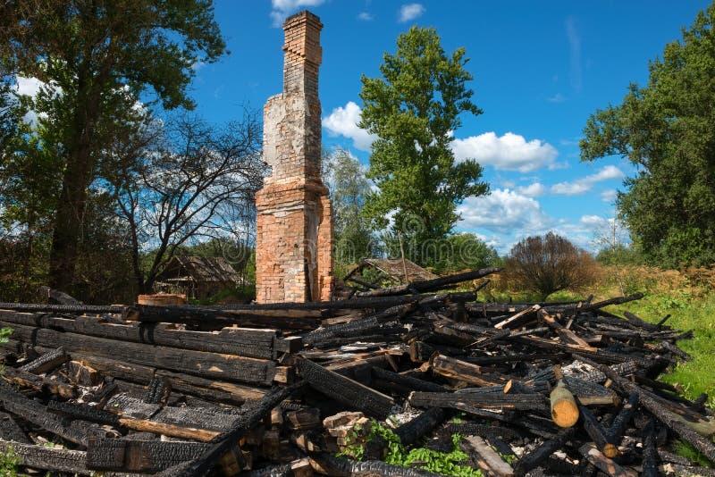 Wood Burned At The Stake Stock Photo  Image Of Bushfire