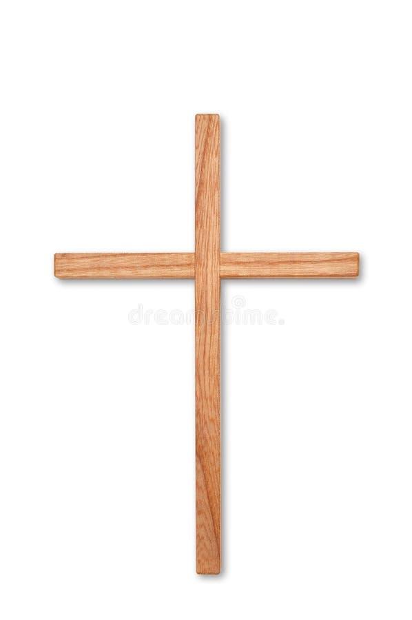 Wooden cross royalty free stock photos