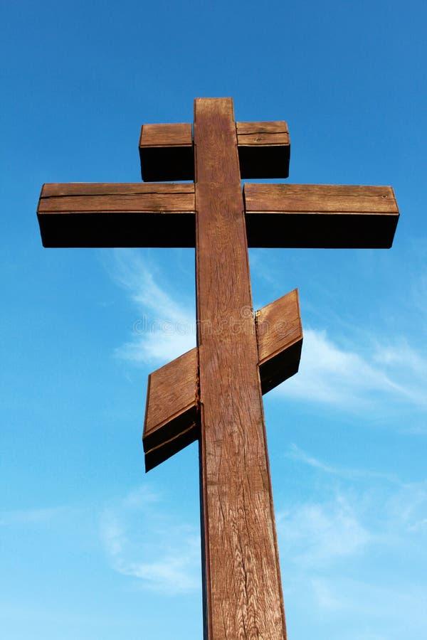 The wooden cross