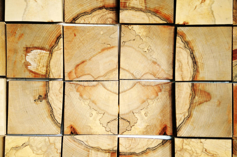 Wooden cross sections royalty free stock image