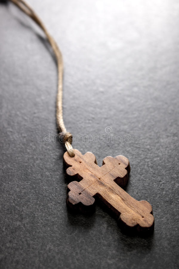 Download Wooden cross stock image. Image of religious, symbolic - 43689815
