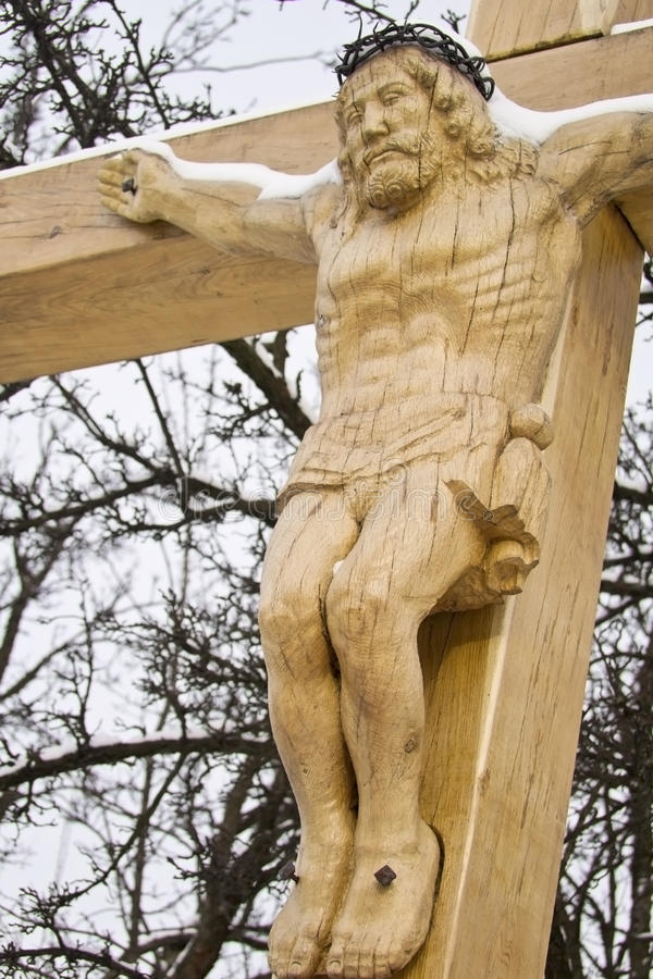 Free Wooden Crucifix Stock Photos - 23133133