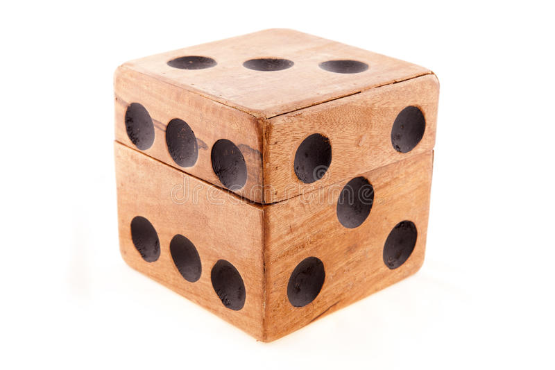 Download Wooden cube stock photo. Image of wood, poker, cube, leisure - 23818340