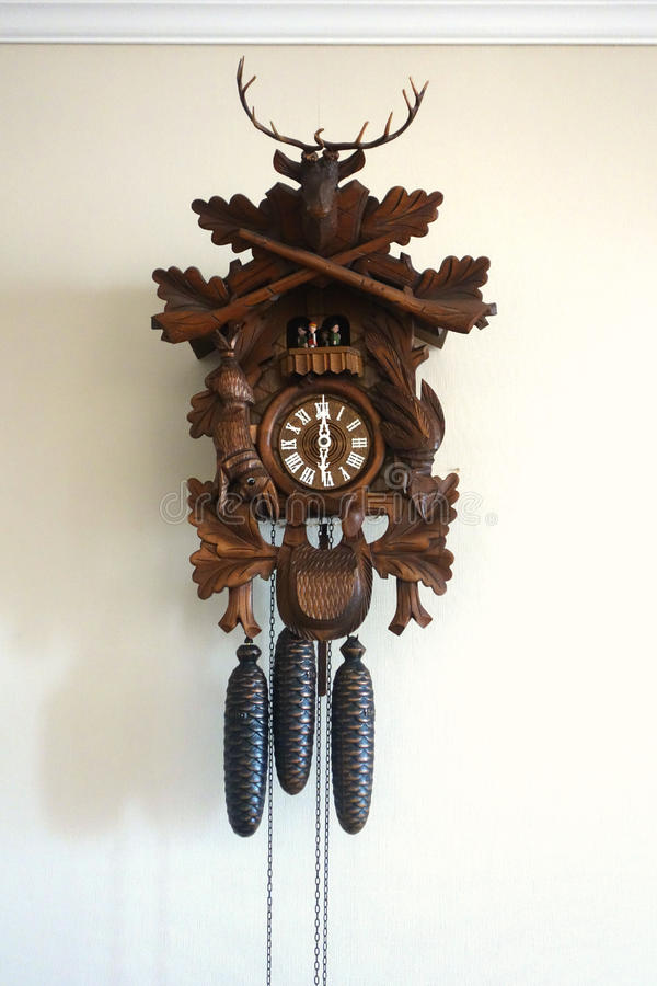 Wooden Cuckoo Clock Stock Photo Image 43277209