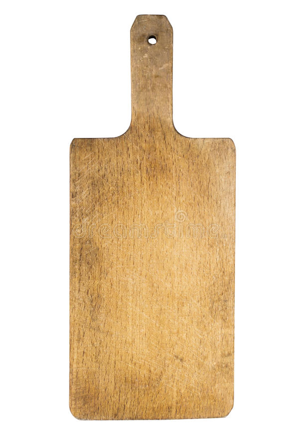 Wooden cutting board royalty free stock images