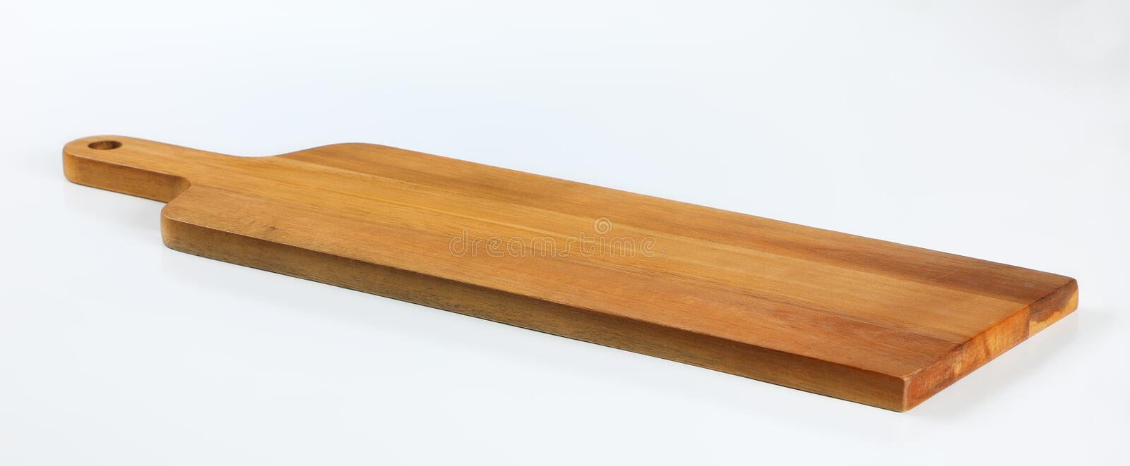 Wooden cutting board stock photography