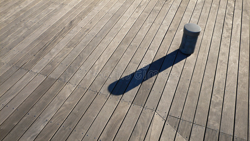 Wooden Deck Background Royalty Free Stock Photos