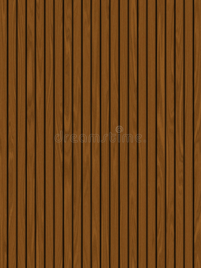 Wooden Decking / Panels Royalty Free Stock Image